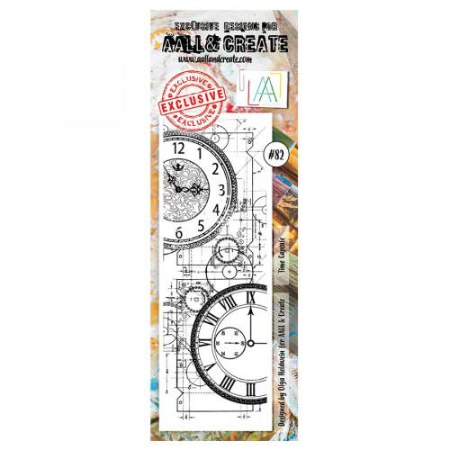 Tampon transparent #082 Capsule temporelle