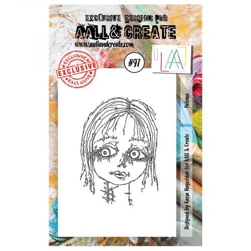 Tampon transparent #097 Paloma