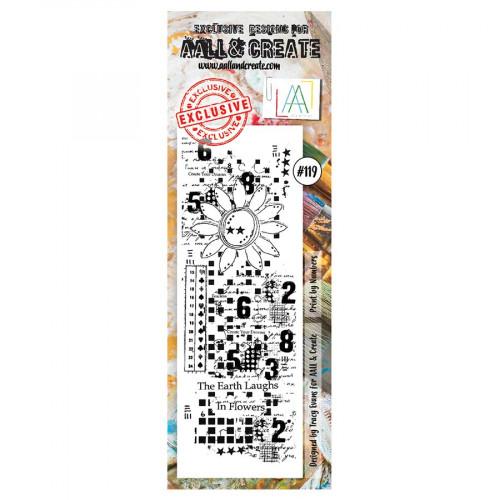 Tampon transparent #119 Impression numérique