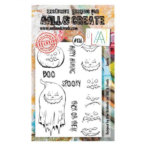 Tampons transparents #136 Fantômes