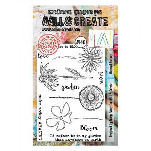 Tampons transparents #140 Fleurs Doodeling