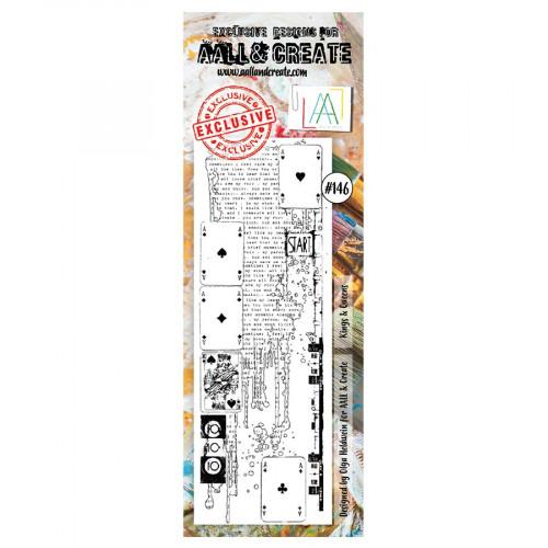 Tampon transparent #146 Jeu de cartes