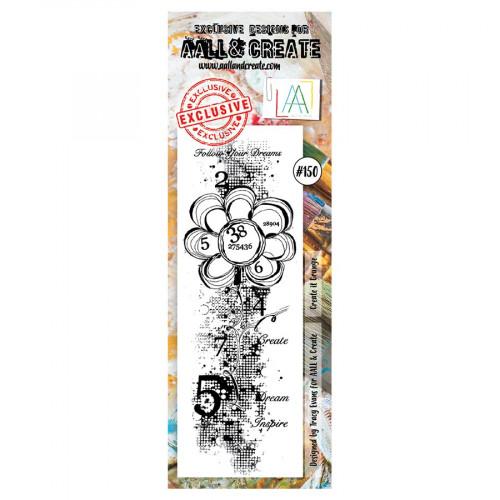 Tampon transparent #150 Grunge