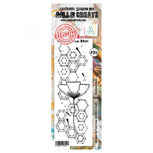 Tampon transparent #206 Hexagones