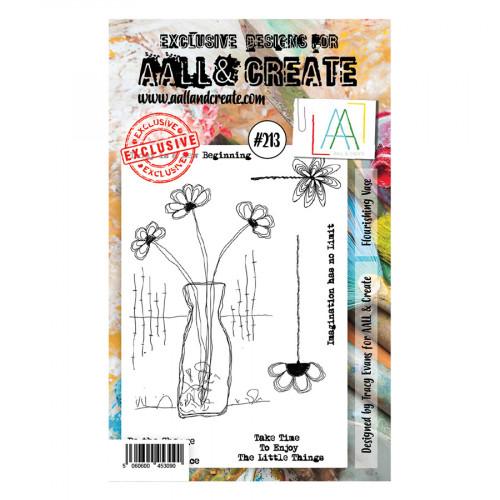 Tampons transparents #213 Fleurissant