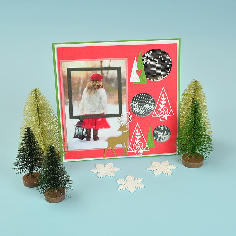 Thinlits Die Set Noël - 10 pcs