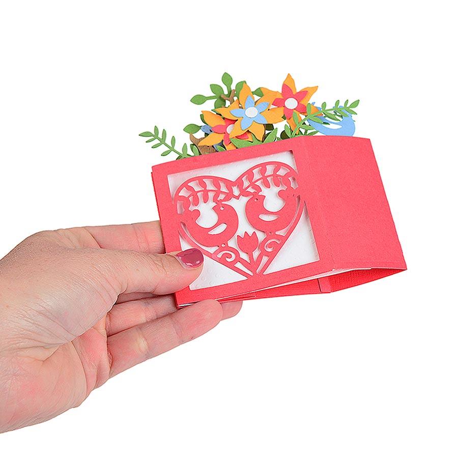 Thinlits Die Set Carte dans une boîte Noël - 12 pcs