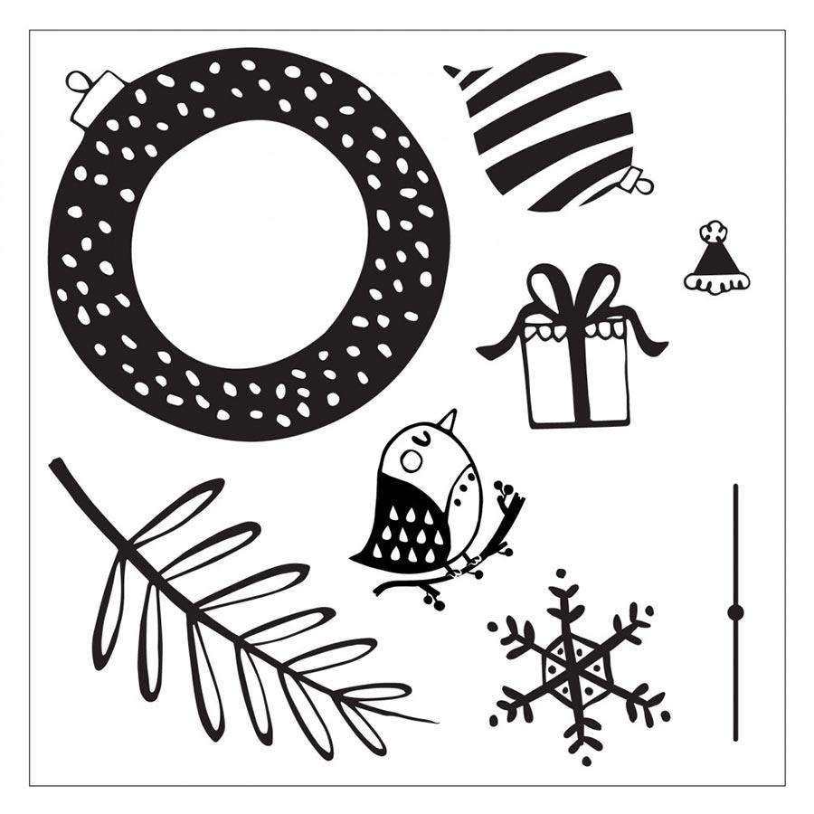Tampons et Framelits Suspensions festives
