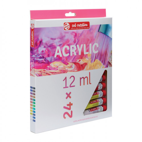 Peinture acrylique Art Creation - 24 x 12 ml