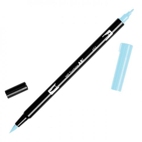 Feutre Tombow double-pointe Bleu ciel 451