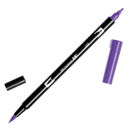 Feutre Tombow double-pointe Violet impérial 636