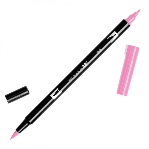Feutre Tombow double-pointe Rose rose 703