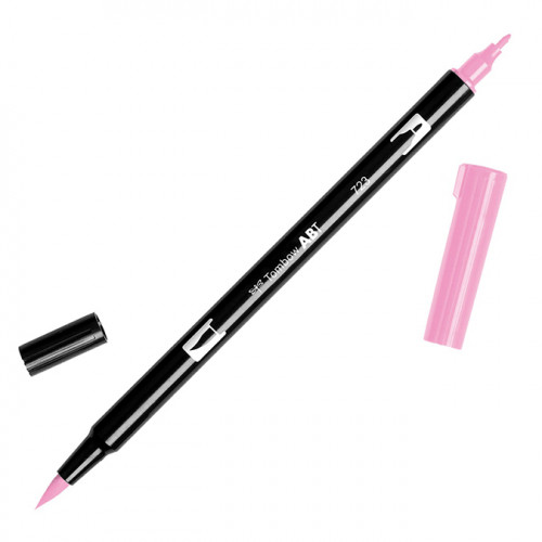 Feutre Tombow double-pointe Rose 723
