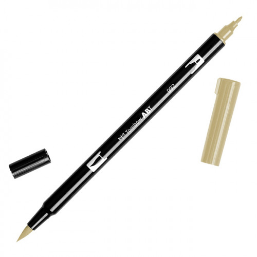 Feutre Tombow double-pointe Sable 992