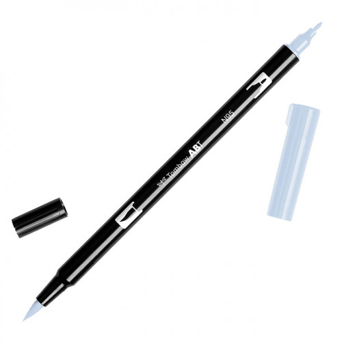 Feutre Tombow double-pointe Gris froid 1 N95