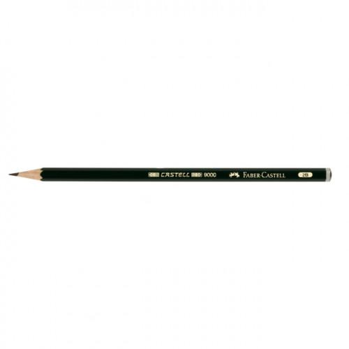 Crayon graphite Castell 9000 2B