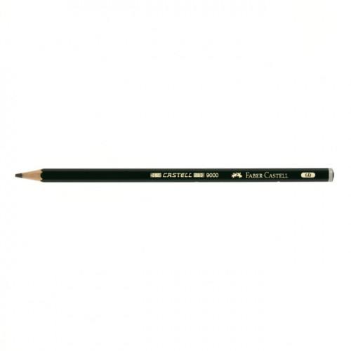 Crayon graphite Castell 9000 6B