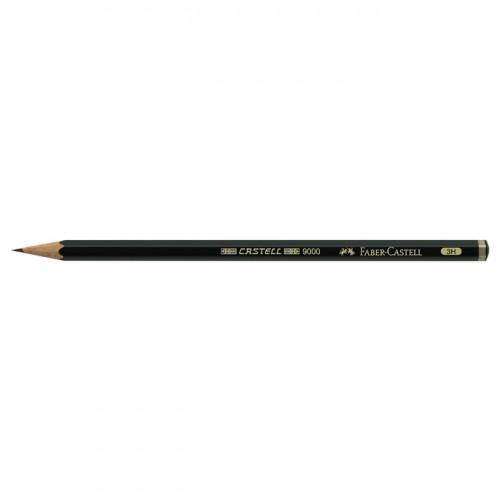 Crayon graphite Castell 9000 3H