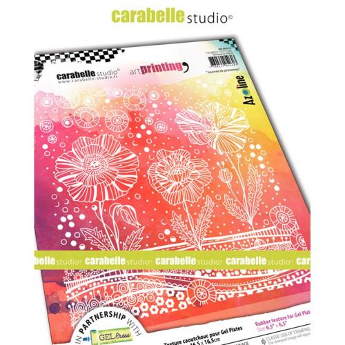 Tampon texture Journée de printemps - 16,5 x 16,5 cm