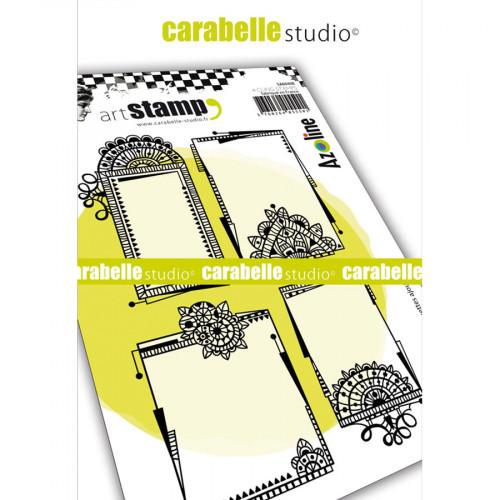 Tampons Cling Etiquettes ajourées - A6