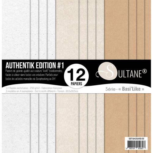 Papiers imprimés Authentik Edition #1
