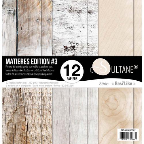Papiers imprimés Matières Edition #3 Bois