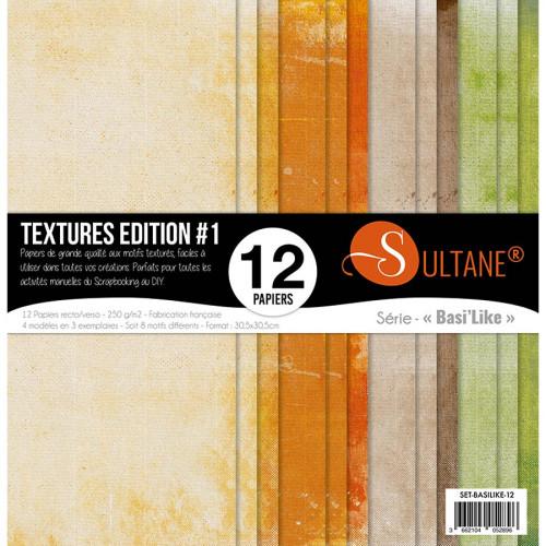 Papiers imprimés Textures Edition #1