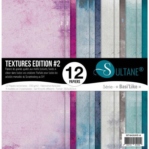 Papiers imprimés Textures Edition #2