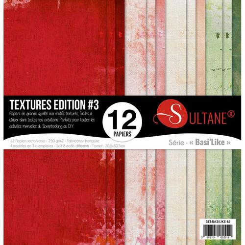 Papiers imprimés Textures Edition #3