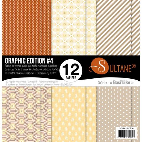 Papiers imprimés Graphic Edition #4