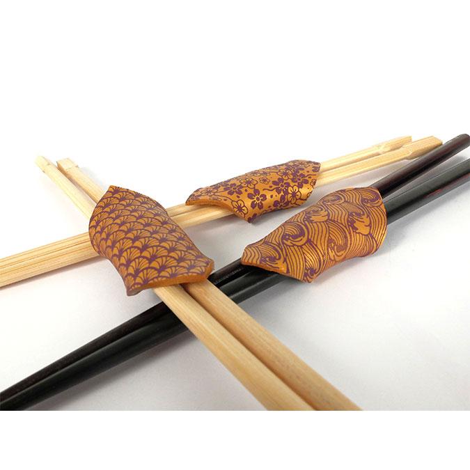 Pochoir Japon pour pâte polymère - 11,4 x 15,3 cm