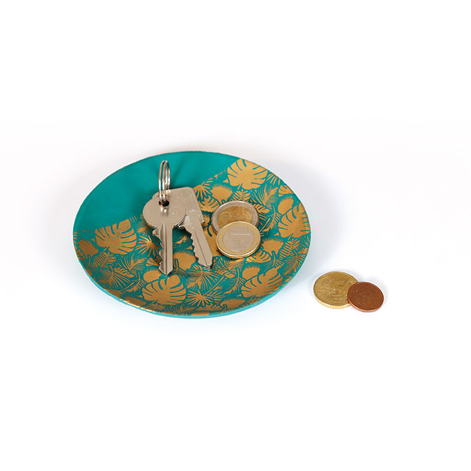 Pochoir Feuillage pour pâte polymère - 11,4 x 15,3 cm