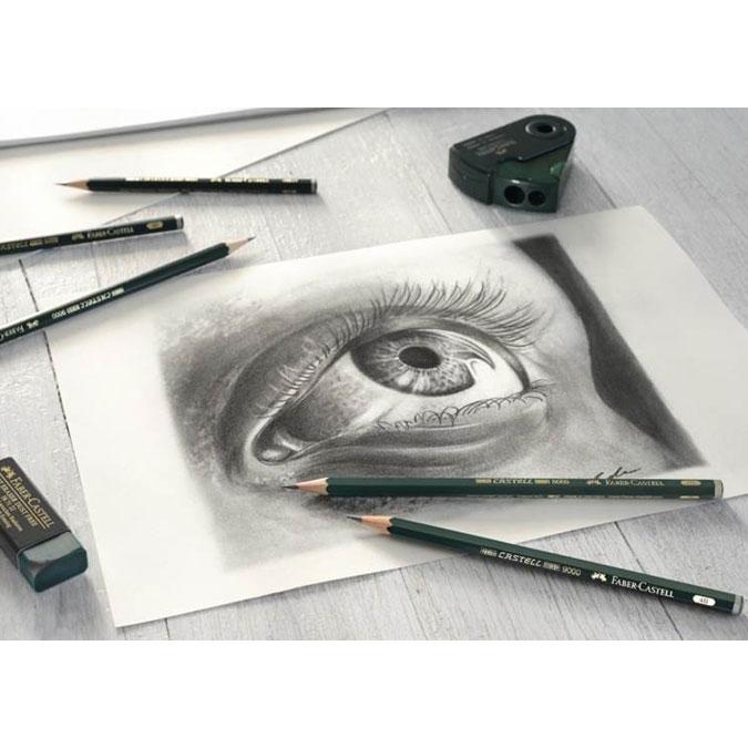 Crayon graphite Castell 9000 B
