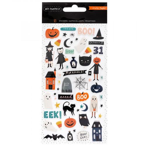 Hey Pumpkin Puffy Stickers