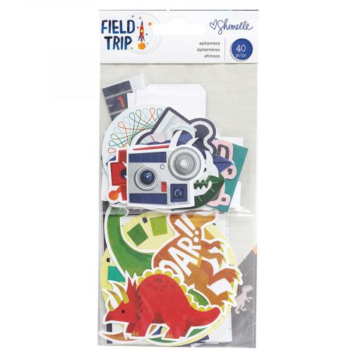 Field Trip Découpes en papier - 40 pcs