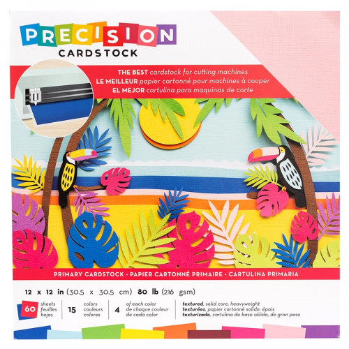 Cardstock de précision texturé Couleurs primaires