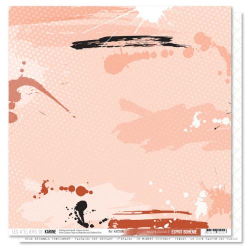 Esprit Bohème - Papier Multicolore