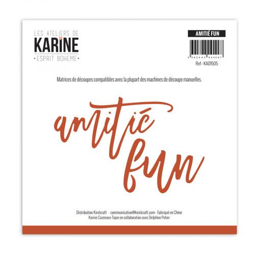 Die Set Amitié - Fun - 2 pcs
