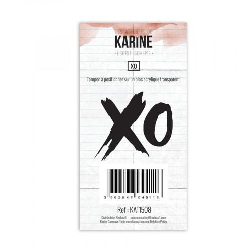 Tampon transparent XO