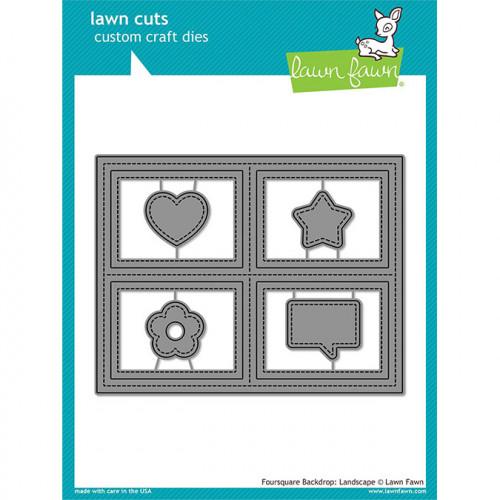 Die Set Fond 4 carrés (format : paysage)