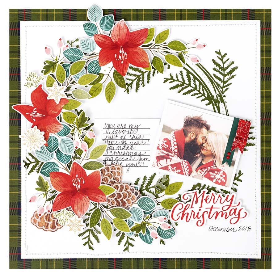 Together for Christmas Set d'embellissements