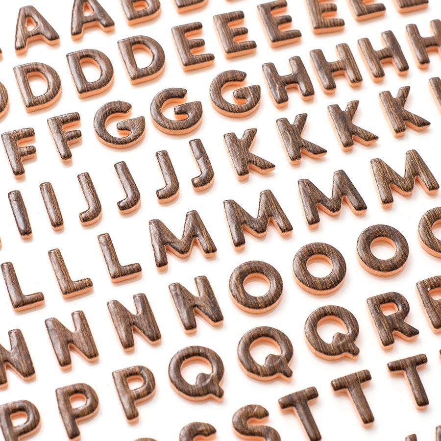 Alphabet Stickers en mousse - 150 pcs