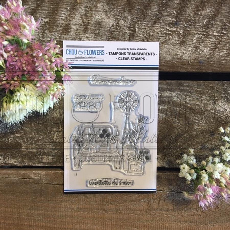Tampons transparents Cueillette de saison - A7