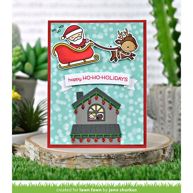 Die Set Construire une maison : Ajout Noël