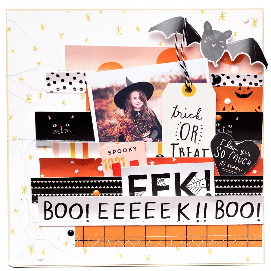 Hey Pumpkin Washi Tape - 8 rouleaux