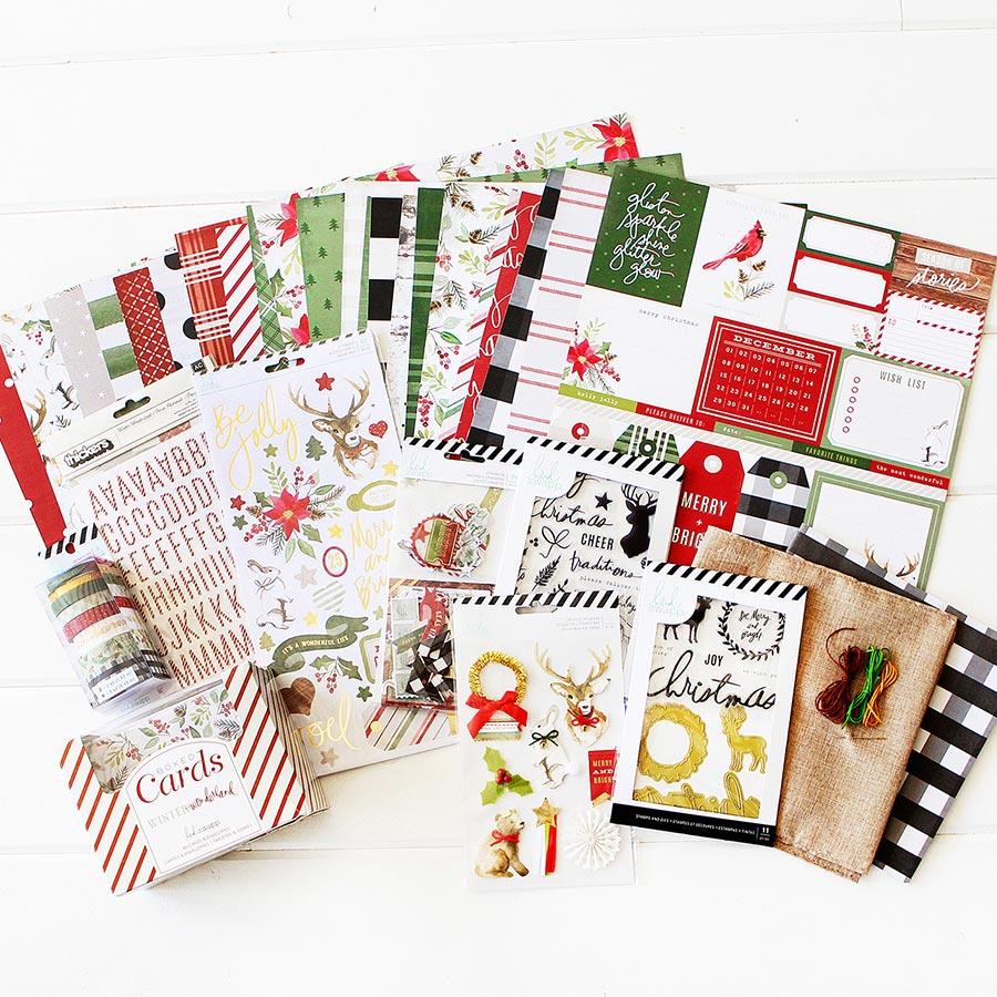 Winter Wonderland Kit Album à customiser