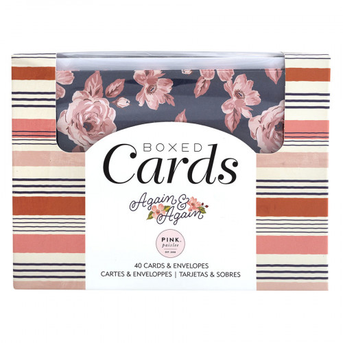 Kit carterie Boxed Cards Again & Again