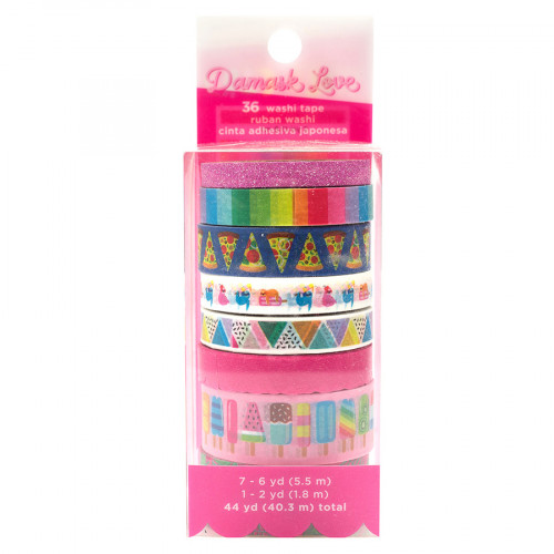 Wild Card Washi Tape - 8 rouleaux