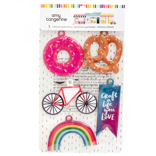 Slice of Life Embellissements gonflés - 5 pcs