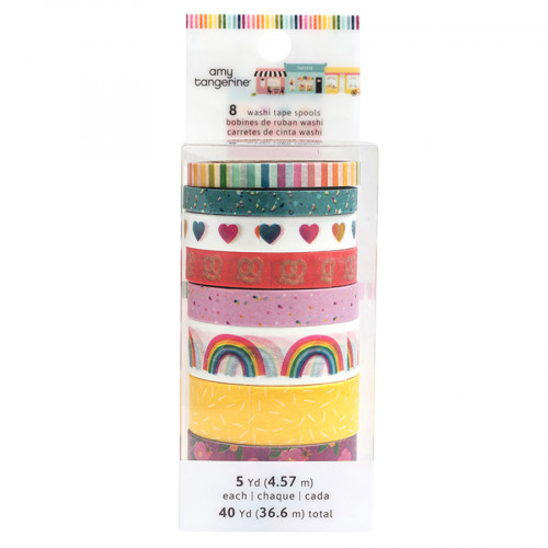 Slice of Life Washi Tape - 8 rouleaux